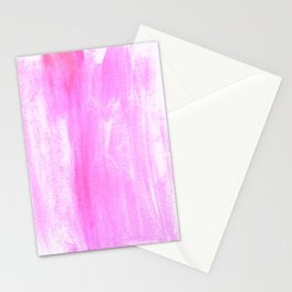 pink watercolor Stationery Cards