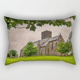 St Andrew, Narberth Rectangular Pillow