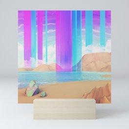 Vertical rythm Mini Art Print