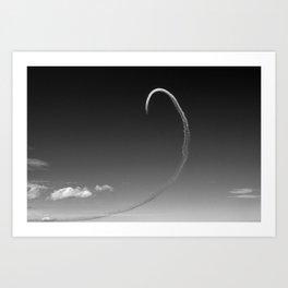 Distant Loop Art Print