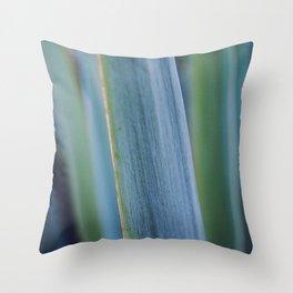 Nature's stripes Throw Pillow