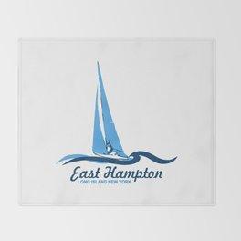 East Hampton - Long Island. Throw Blanket