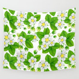 Starwberry garden 2 Wall Tapestry