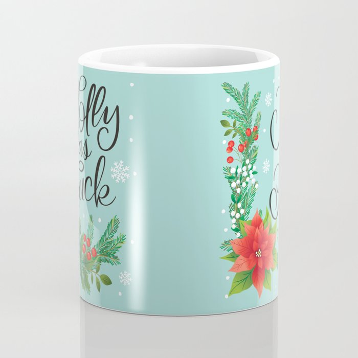 Very Sweary Holidays: Jolly as Fuck Coffee Mug