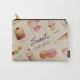Sweets & Desserts Carry-All Pouch