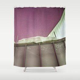 Untitled (Purple Sky) Shower Curtain