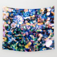 sparkle Wall Tapestries featuring Sparkle by Stephen Linhart