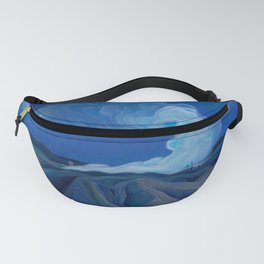 Franklin Carmichael - The Nickel Belt - Canada, Canadian Watercolor Painting - Group of Seven Fanny Pack