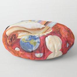 SufjanStevens - Planetarium Floor Pillow