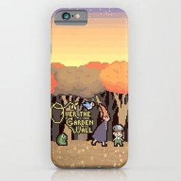 Over the Garden Pixel iPhone Case