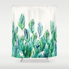 Jungle Rising  Shower Curtain