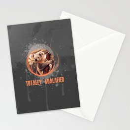 Totally Koalafied Stationery Cards
