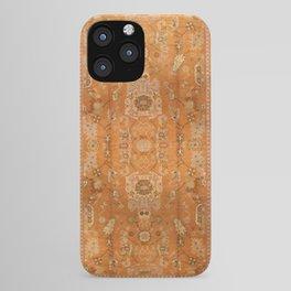 Antique Turkish Oushak Rug Print iPhone Case