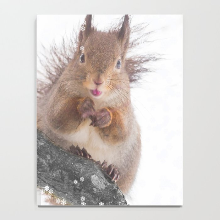 Little squirrel - smack! Notebook