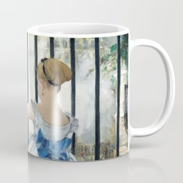Edouard Manet - Le Chemin de fer (The Railroad) Coffee Mug
