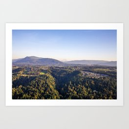 Nature in the Hills  Art Print