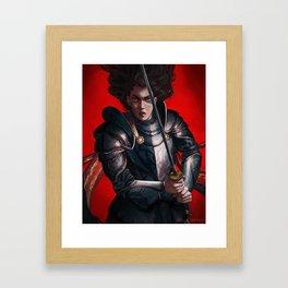 Fight Me, Bro! Framed Art Print