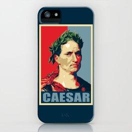 Caesar Political Propaganda Pop Art iPhone Case