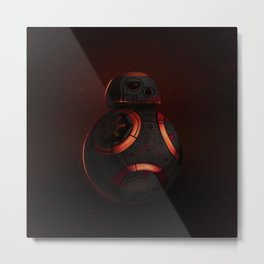 BB8. Why do you always choose the light side? Metal Print