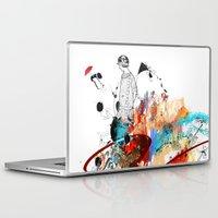 sketch Laptop & iPad Skins featuring Sketch by Adriana Bermúdez
