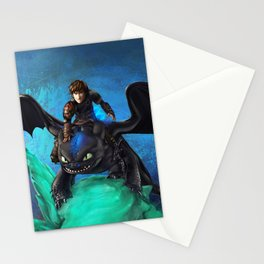 The Alpha Protects Them All Stationery Cards