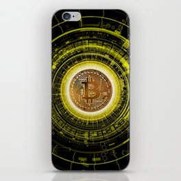 Bitcoin Blockchain Cryptocurrency iPhone Skin