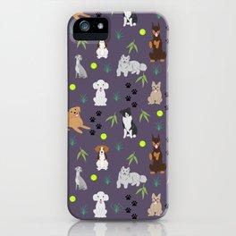 Happy Puppies iPhone Case