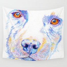 Lotte, the rescue dog Wall Tapestry