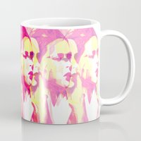 faces Mugs featuring Faces by Paola Rassu