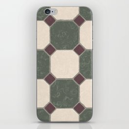seamless art colour lines triangle look rest eyes color new artist fun mixed pattern sweet cover cas iPhone Skin