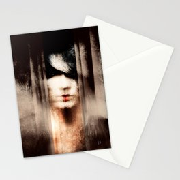 Behind the Curtains II Stationery Cards