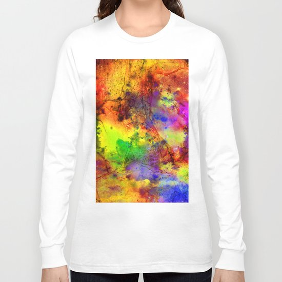 Colorful marble b Long Sleeve T-shirt