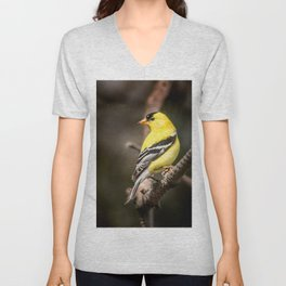 May Gold Finch Unisex V-Neck