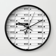 Mailbox Lotto Wall Clock
