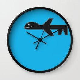 Drone Dreaming Wall Clock