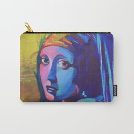 Color with an Earring Carry-All Pouch