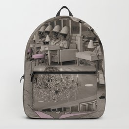 Beauty Day Retro Hair Salon Backpack