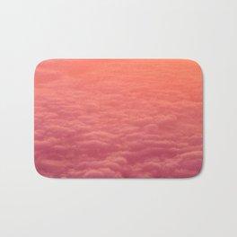 pink clouds Bath Mat