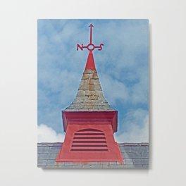 Red Cupola Metal Print
