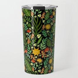Sunshine Botanical - Dark Version Travel Mug