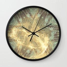 Kaos theory mandala Wall Clock