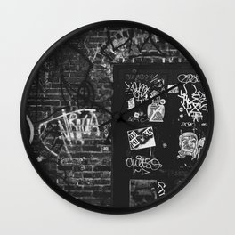 Leave A Message Wall Clock