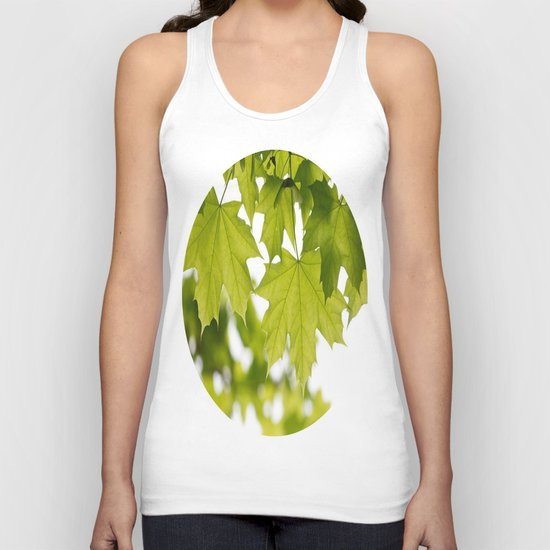 The Green Leaves of Summer Unisex Tank Top