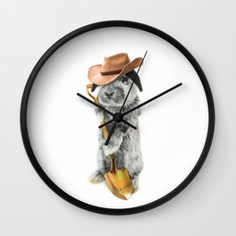JOHNNY CARRO Wall Clock