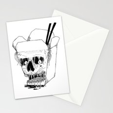 Monster Food: Takeout Stationery Cards