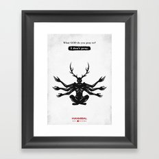 Hannibal - Ko No Mono Framed Art Print