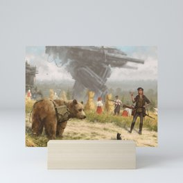 Heroes of Zalesie Mini Art Print