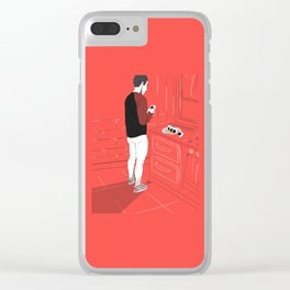 MIDNIGHT SUSHI Clear iPhone Case