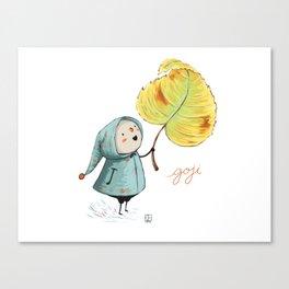 Goji and the leaf Canvas Print