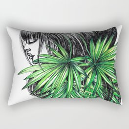GIRLZ - PALM Rectangular Pillow